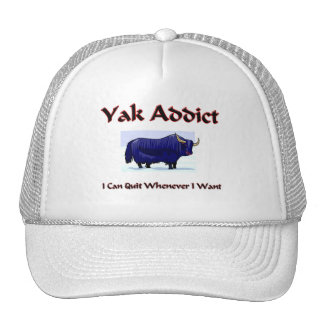 Yak Addict Hats