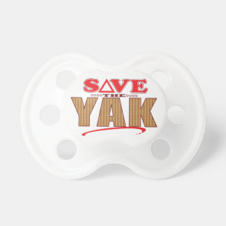 Yak Save Pacifiers
