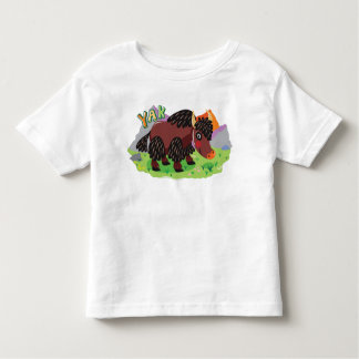 Yak Toddler T-Shirt