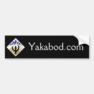 Yakabod com bumper sticker
