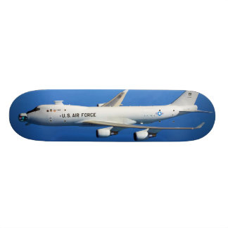 YAL-1A Airborne Laser Aircraft in flight Skateboards