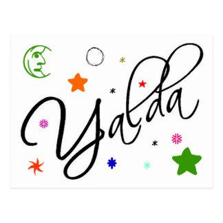 Yalda Postcard