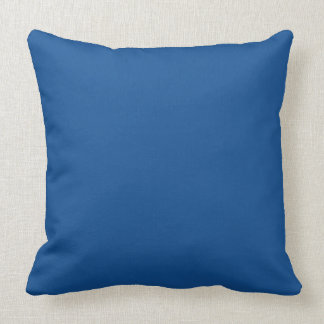 Yale blue cushion