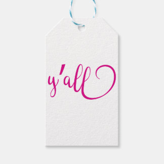 y'all gift tags