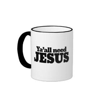 Yall need Jesus Mugs