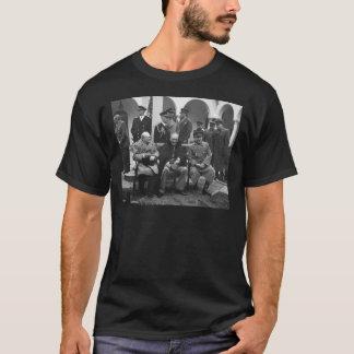 Yalta Conference Roosevelt Stalin Churchill 1945 T-Shirt