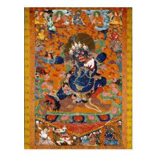 Yama Tibetan Buddhist Deity Postcard