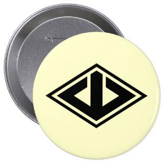 Yamabishi, Japan 10 Cm Round Badge