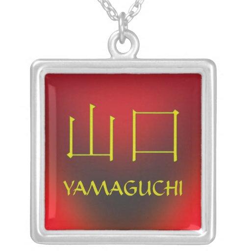 Yamaguchi Monogram Pendants