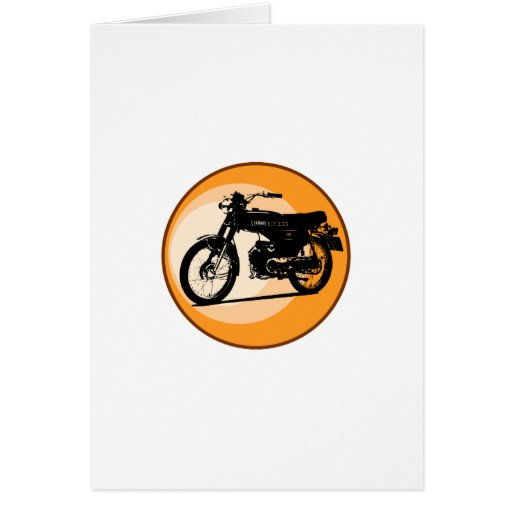 Yamaha FS1E 'FIZZY' Classic moped Cards