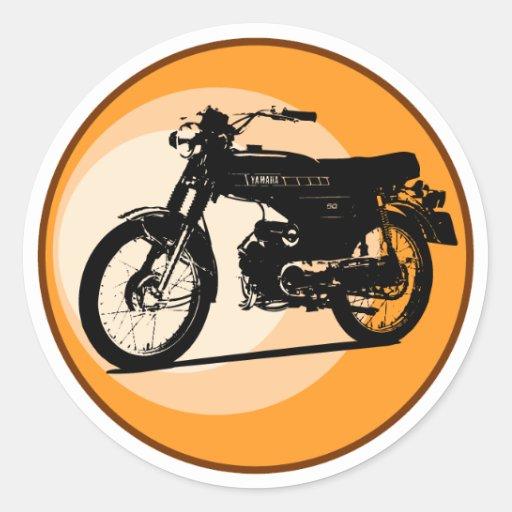 Yamaha FS1E 'FIZZY' Classic moped Sticker