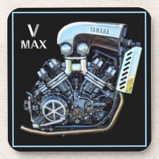 Yamaha V-Max Motorcycle Engine Coaster