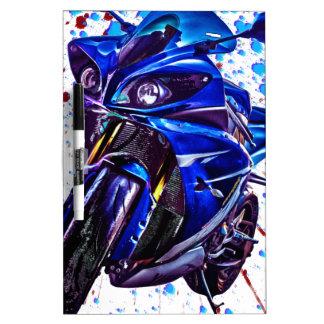 Yamaha YZF R1 Art Print Dry Erase Board