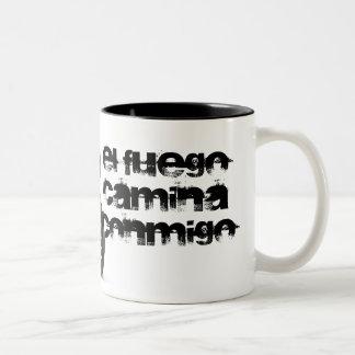 yamaha yzf r6 Two-Tone mug