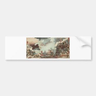 Yamamoto Kansuke by Utagawa Kuniyoshi Bumper Sticker
