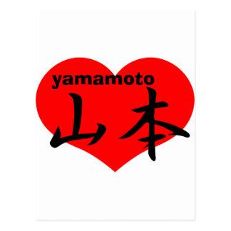 yamamoto post cards