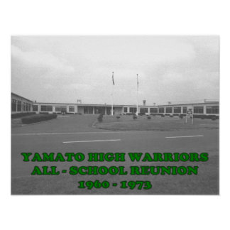 Yamato High School  Reunion Poster