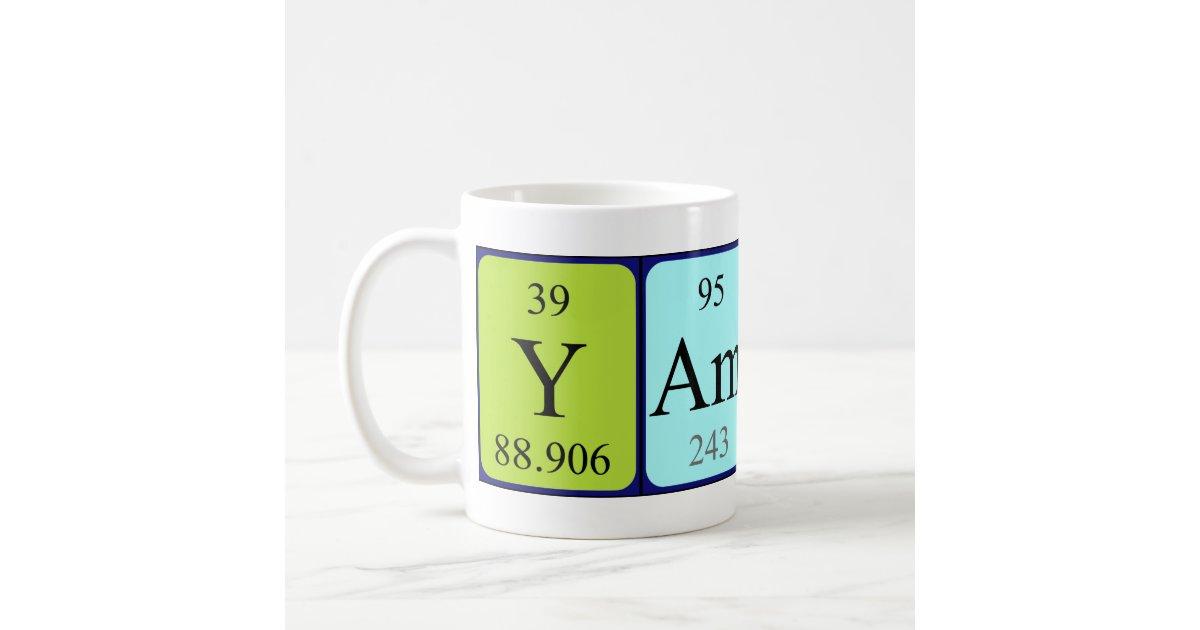 Yamina periodic table name mug zazzle urtaz Image collections