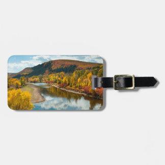 Yampa River In Autumn Luggage Tag