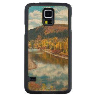 Yampa River In Autumn Maple Galaxy S5 Slim Case