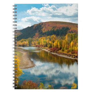 Yampa River In Autumn Notebooks