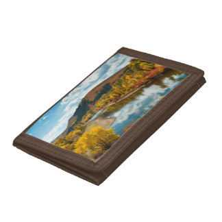 Yampa River In Autumn Tri-fold Wallet