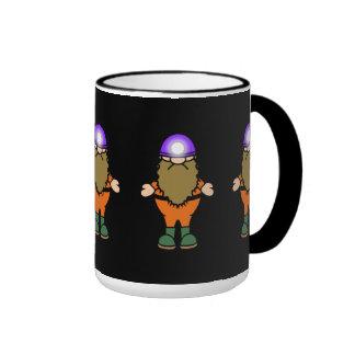 Yampi Caveman Ringer Mug