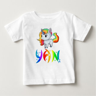 Yan Unicorn Baby T-Shirt