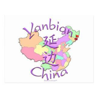 Yanbian China Post Cards