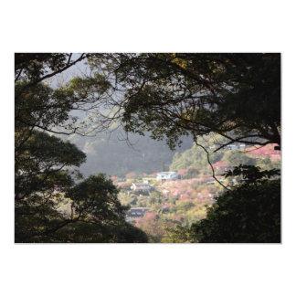 Yangmingshan National Park, Taipei County, Taiwan 13 Cm X 18 Cm Invitation Card