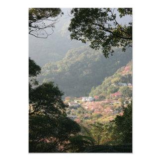 Yangmingshan National Park, Taipei County, Taiwan Personalized Invitation