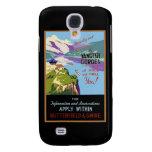 Yangtsze Yangtze River Gorges Vintage Travel Art Samsung Galaxy S4 Covers