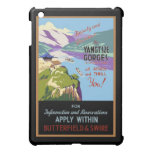 Yangtsze Yangtze River Gorges Vintage Travel Art iPad Mini Covers