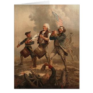 Yankee Doodle 1876 Big Greeting Card