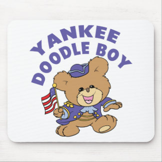 Yankee Doodle Boy Mouse Pads