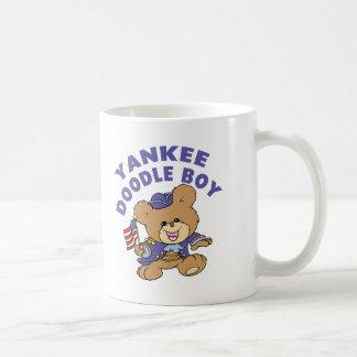 Yankee Doodle Boy Coffee Mugs