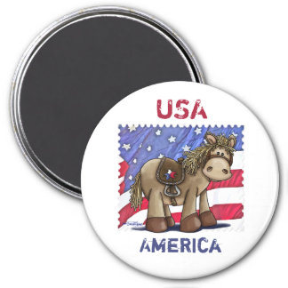 Yankee Doodle Dandy 7.5 Cm Round Magnet