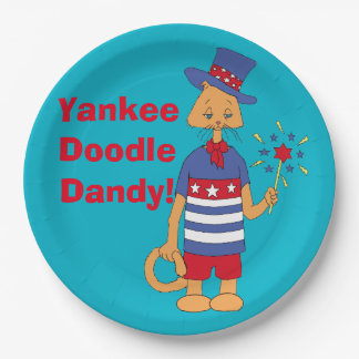 Yankee  Doodle  Dandy! 9 Inch Paper Plate
