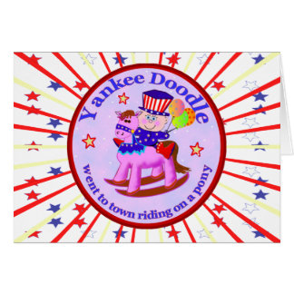 Yankee Doodle Dandy Greeting Card