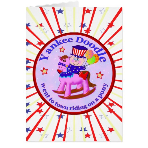 Yankee Doodle Dandy Greeting Cards