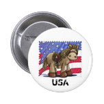 Yankee Doodle Dandy Pinback Buttons