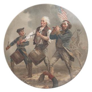 """Yankee Doodle Dandy"" plate"