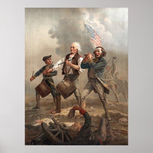 """Yankee Doodle Dandy"" poster/print Poster"