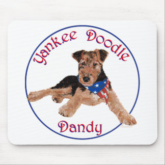 Yankee Doodle Dandy Pup Mouse Pad