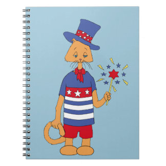 Yankee Doodle Dandy! Spiral Note Book