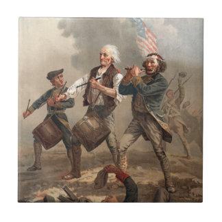 """""""Yankee Doodle Dandy"""" tile"""