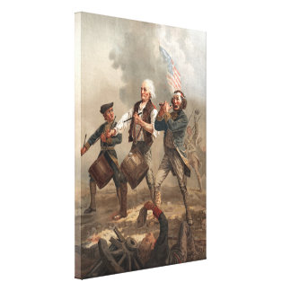 """Yankee Doodle Dandy"" wrapped canvas print"