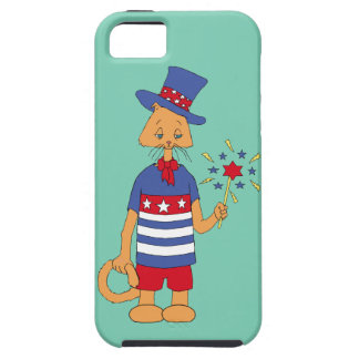 Yankee Doodle Kitty Tough iPhone 5 Case