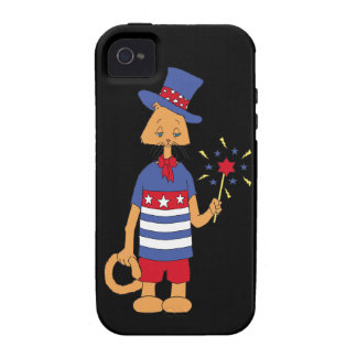Yankee Doodle Kitty iPhone 4/4S Case