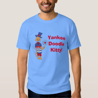 Yankee Doodle Kitty! Shirts